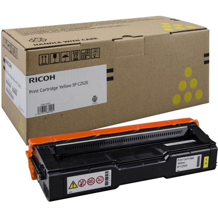 ТОНЕР КАРТРИДЖ  RICOH SP C252E yellow            EDP CODE